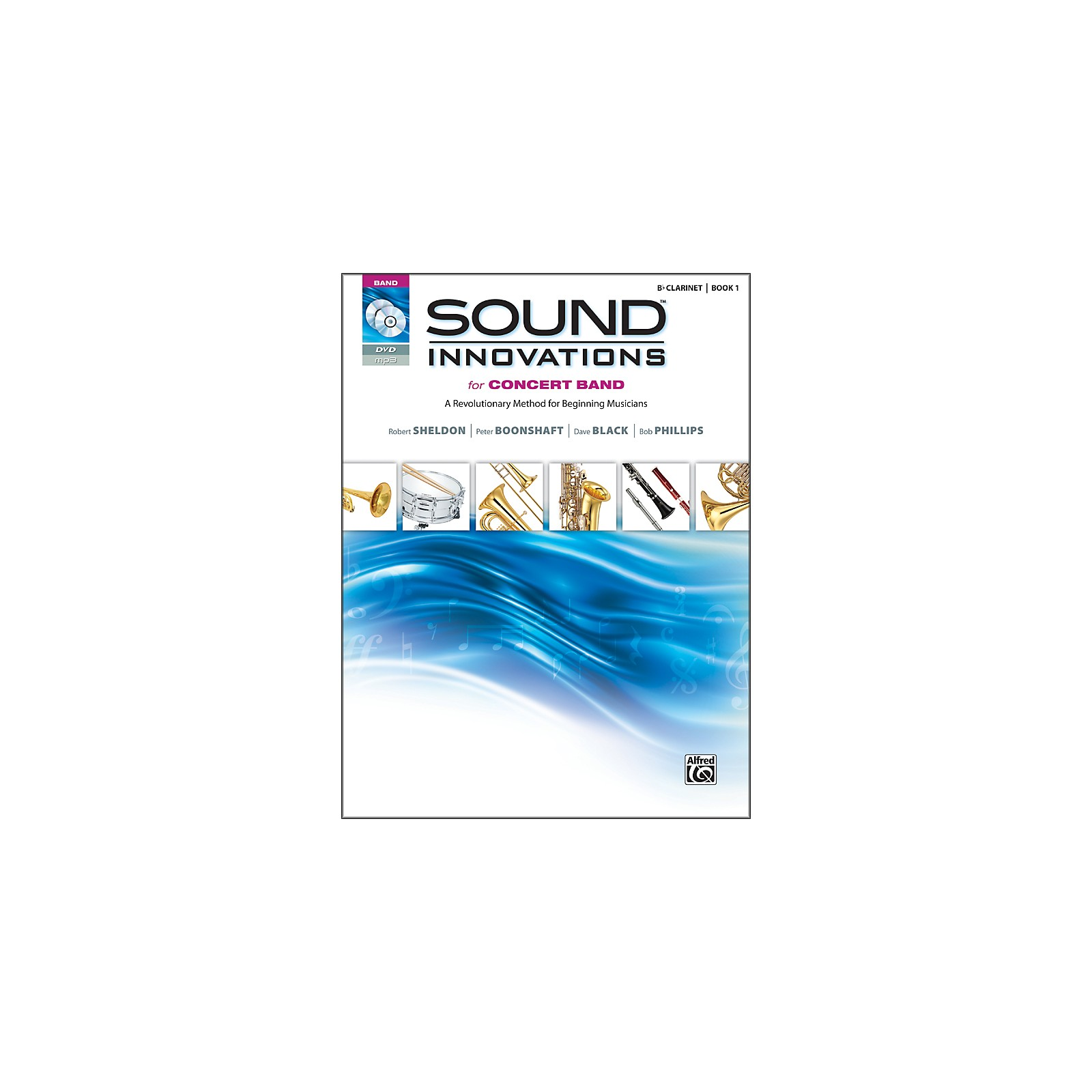 Alfred Sound Innovations for Concert Band Book 1 B-Flat Clarinet Book CD/ DVD