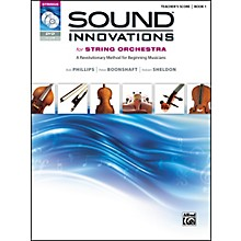 Alfred Sound Innovations for String Orchestra Book 1 Conductor's Score CD/ DVD