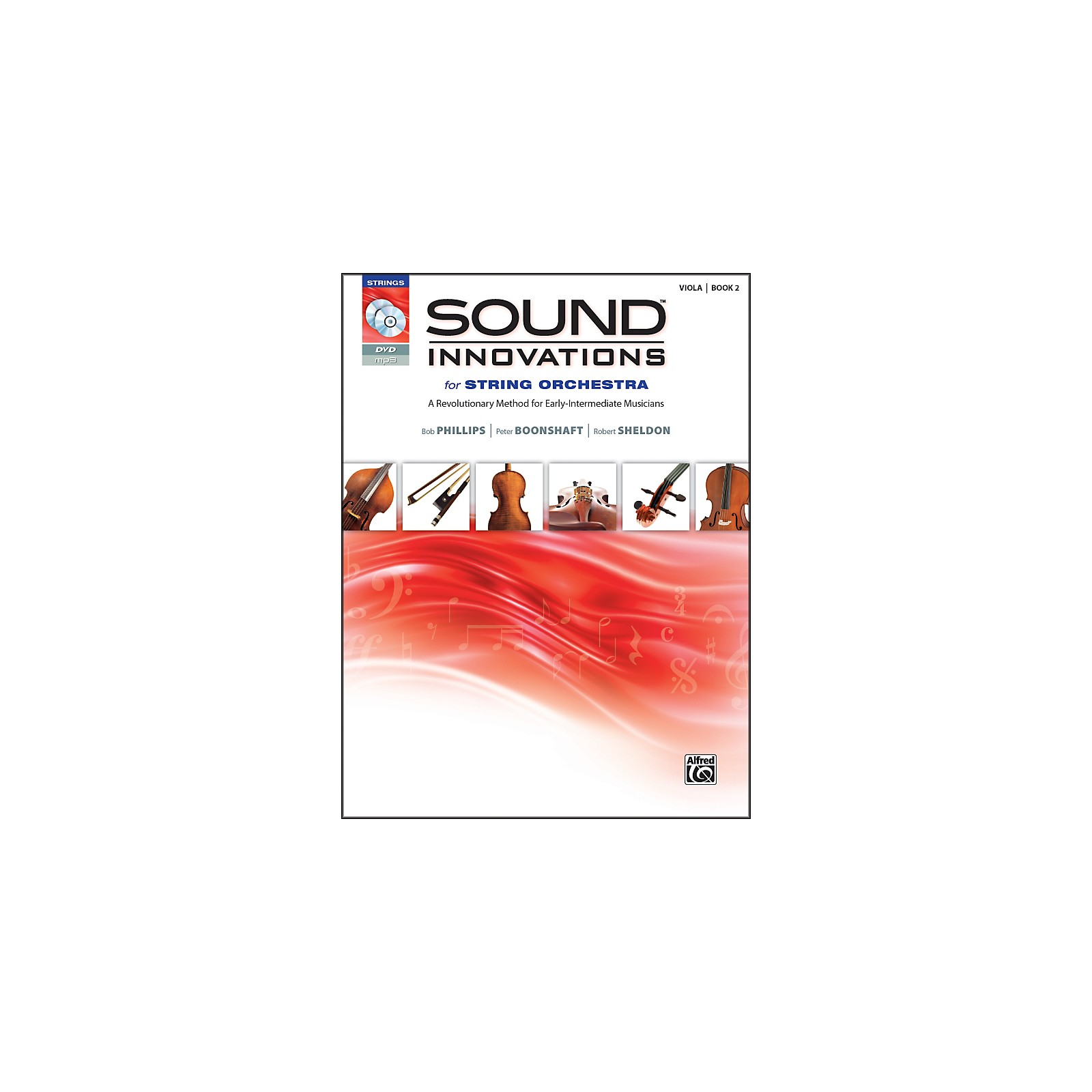 Alfred Sound Innovations for String Orchestra Book 2 Viola Book CD/DVD