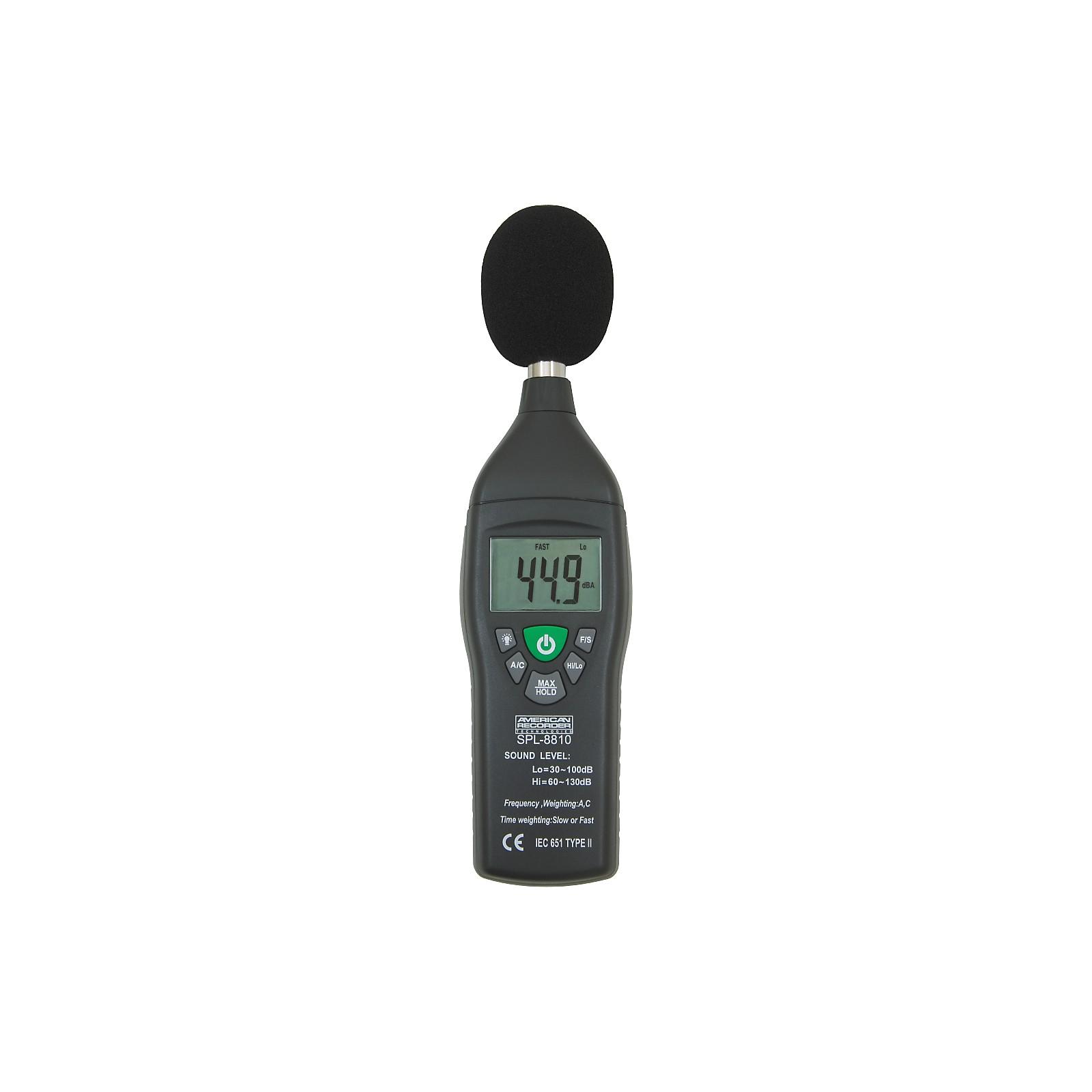 American Recorder Technologies Sound Level Meter