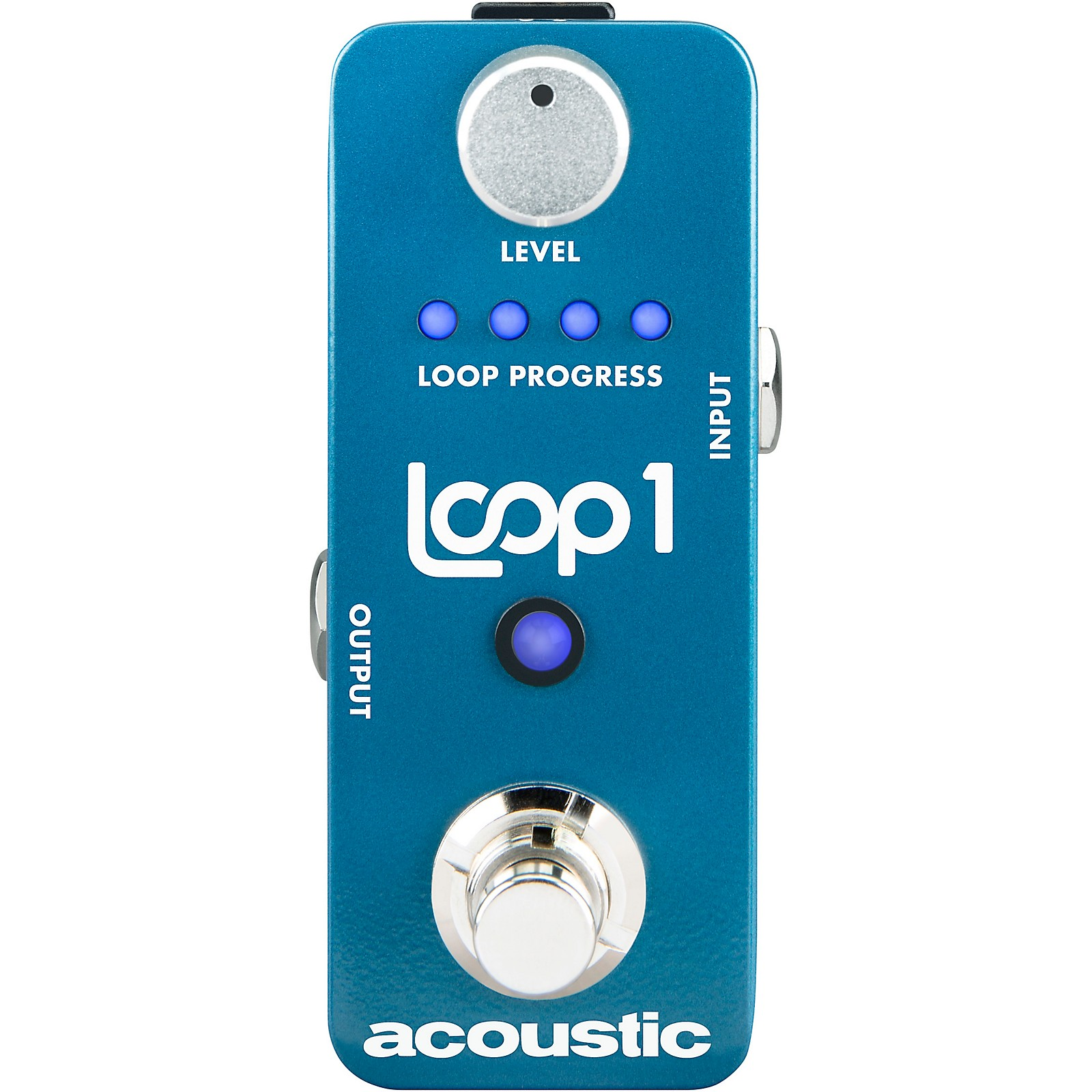 Acoustic Sound On Sound Looper Pedal with 30 Min Record Time And True Bypass