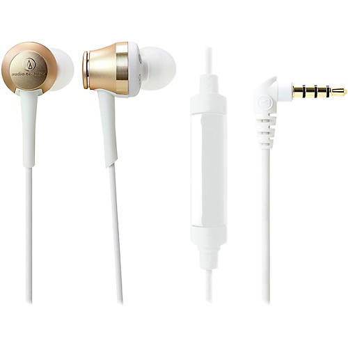 Audio-Technica Sound Reality In-Ear High-Resolution Audio Headphones With In-Line Mic And Control Condition 1 - Mint