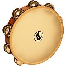Open BoxBlack Swamp Percussion SoundArt Series 10 inch Tambourine Double Row with Calf Head