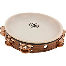 "Black Swamp Percussion SoundArt Series Double Row 10"" Tambourine with Remo Head"