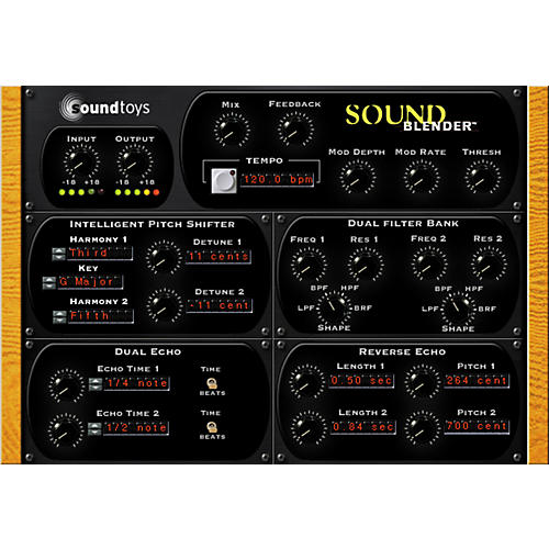 Roland SoundBlender VS Plug-in