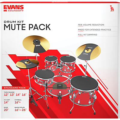 Evans SoundOff Full Box Set, Standard
