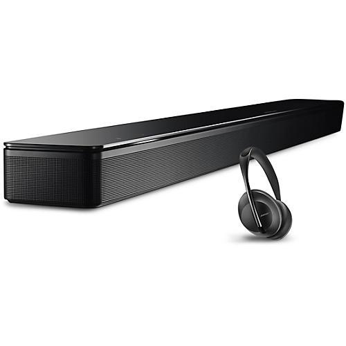 Bose Soundbar 700 and Headphone 700 Triple Black