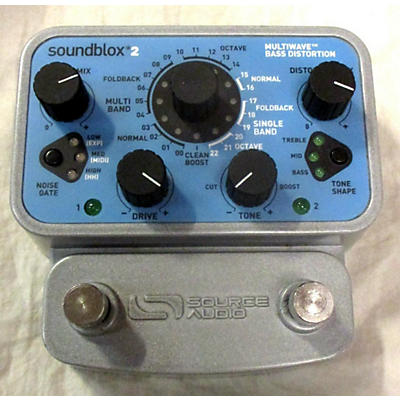 Source Audio Soundblox 2 Bass Effect Pedal