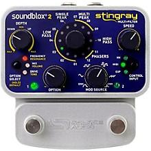 Open BoxSource Audio Soundblox 2 Stingray Multi-Filter Effects Pedal