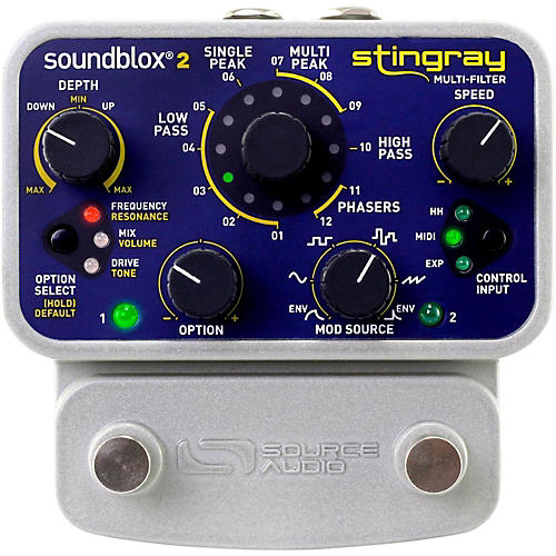 Source Audio Soundblox 2 Stingray Multi-Filter Effects Pedal