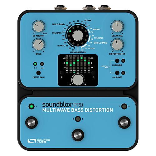 Source Audio Soundblox Pro Multi Wave Bass Distortion