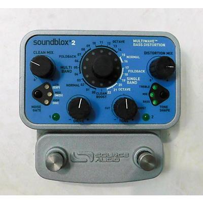 Source Audio Soundblox2 Multiwave Bass Distortion Bass Effect Pedal