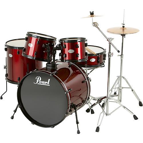 pearl soundcheck 5 piece drum set with zildjian cymbals musician 39 s friend. Black Bedroom Furniture Sets. Home Design Ideas