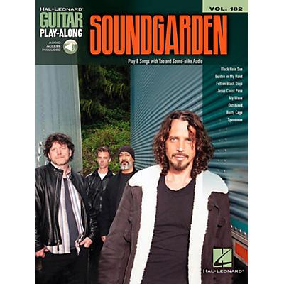 Hal Leonard Soundgarden - Guitar Play-Along Vol. 182 Book/Online Audio
