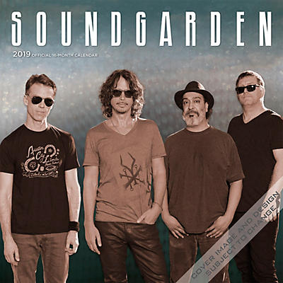 Browntrout Publishing Soundgarden 2019 Calendar