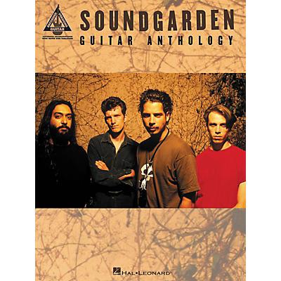 Hal Leonard Soundgarden Anthology Guitar Tab Songbook