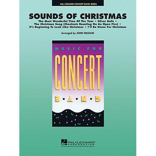 Hal Leonard Sounds of Christmas Concert Band Level 4-5 Arranged by John Wasson