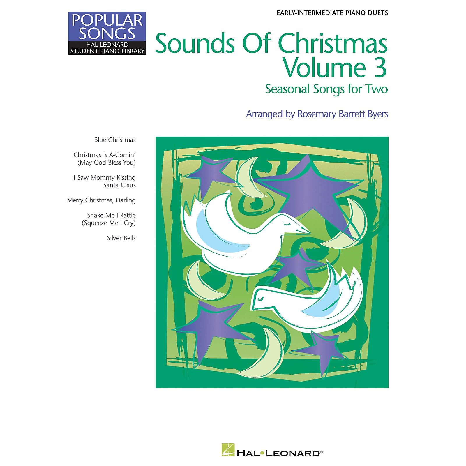 Hal Leonard Sounds of Christmas Volume 3 Piano Library Series Book (Level Late Elem)