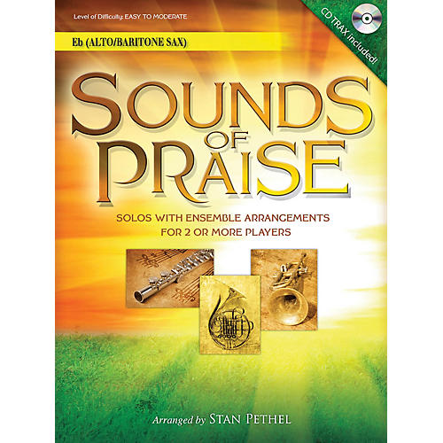 Word Music Sounds of Praise Instrumental Play-Along Series Book with CD