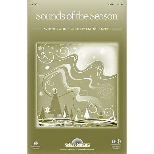 Shawnee Press Sounds of the Season Studiotrax CD Composed by Mark Hayes