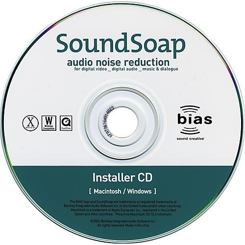 Bias Soundsoap SE Audio Restoration Software