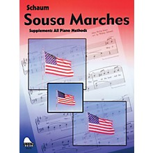 SCHAUM Sousa Marches Educational Piano Series Softcover