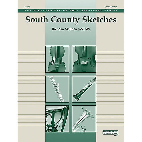 Alfred South County Sketches Full Orchestra Grade 4 Set