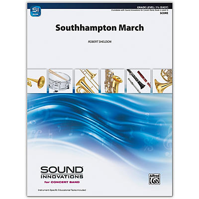 Alfred Southampton March Conductor Score 1.5 (Easy)