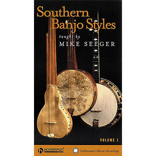Homespun Southern Banjo Styles - Volume 1 (VHS)