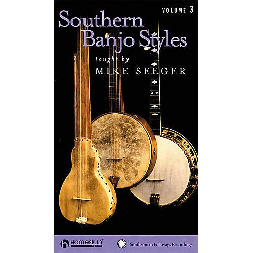 Homespun Southern Banjo Styles - Volume 3 (VHS)