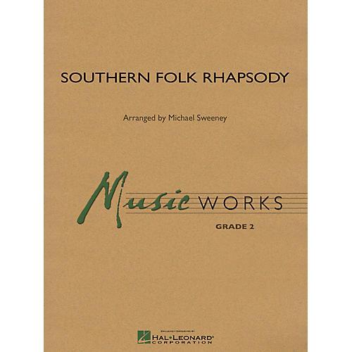 Hal Leonard Southern Folk Rhapsody Concert Band Level 2 Composed by Michael Sweeney