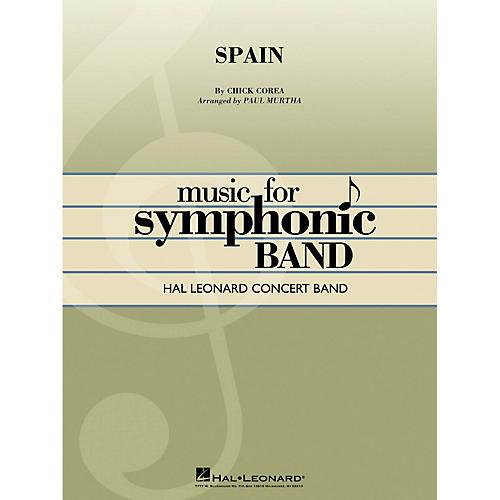 Hal Leonard Spain Concert Band Level 4 Arranged by Paul Murtha