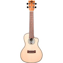 Kala Spalted Maple Cutaway Travel Concert Ukulele