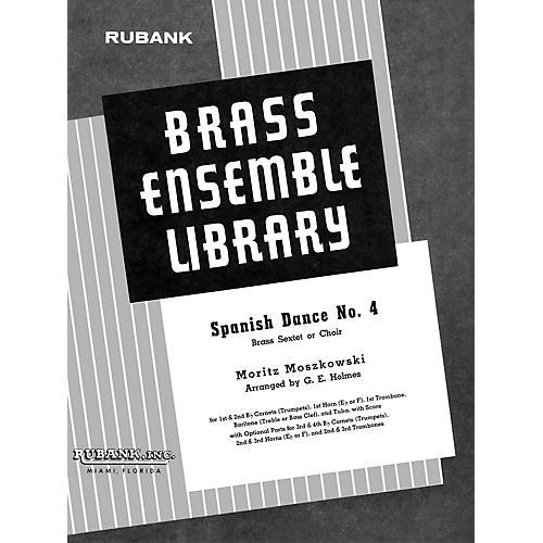 Rubank Publications Spanish Dance No. 4 (Brass Sextet/Choir - Grade 4) Rubank Solo/Ensemble Sheet Series