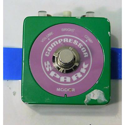Mooer Spark Compressor Effect Pedal