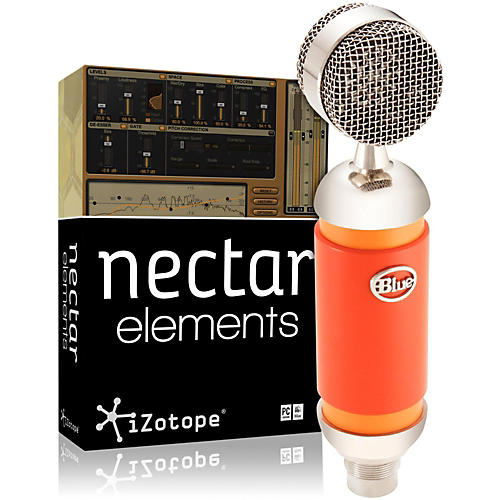 BLUE Spark Mic with Nectar Elements Bundle