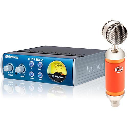 BLUE Spark Studio Mic with TubePre V2 Mic Preamp Bundle