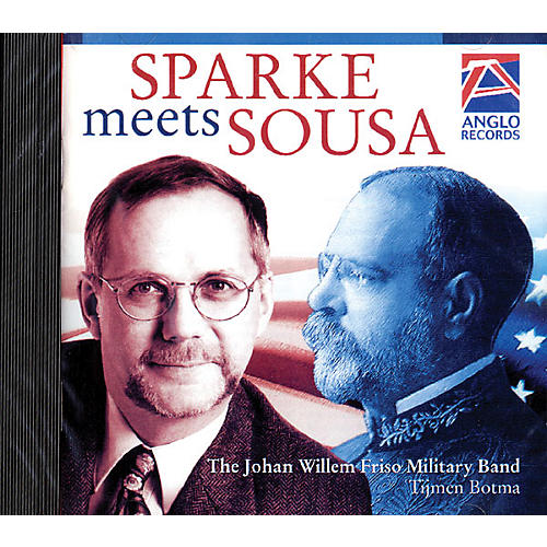 Anglo Music Press Sparke Meets Sousa (Anglo Music Press CD) Concert Band Arranged by Philip Sparke