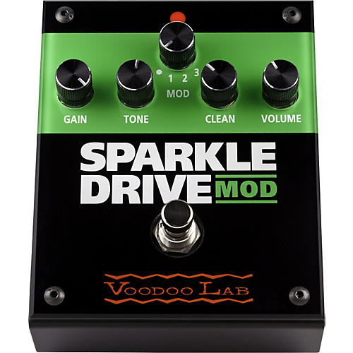 Voodoo Lab Sparkle Drive MOD Overdrive Guitar Effects Pedal
