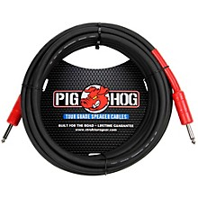 "Pig Hog Speaker Cable 14 Gauge Wire 1/4"" to 1/4"""