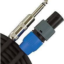 "Open BoxMusician's Gear Speakon to 1/4"" Speaker Cable - 14-Gauge"