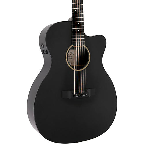 Martin Special 000 Cutaway X Style Sonitone Acoustic-Electric Guitar Black
