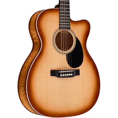 Martin Special Auditorium Premium Deep Quilted Pacific Big Leaf Maple Cutaway Acoustic Guitar