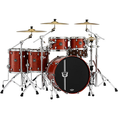 Mapex Special Edition 30th Anniversary 5-Piece Shell Pack Garnet Flame