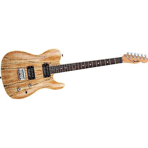 Fender Special Edition Custom Telecaster Spalted Maple HH Electric Guitar