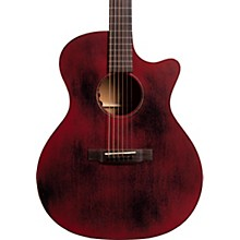 Martin Special Grand Performance Cutaway 15ME Streetmaster Style Acoustic-Electric Guitar Weathered Red