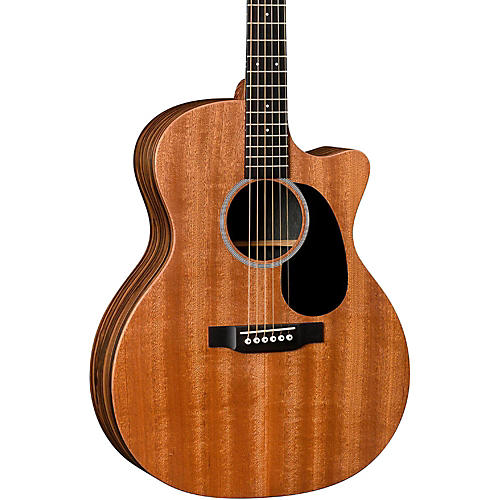 Special Grand Performance Cutaway X2AE Style Macassar Acoustic Guitar Natural