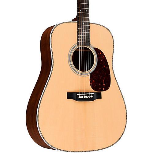 Martin Special HD28 Style Adirondack VTS Herringbone Dreadnought Acoustic Guitar Natural