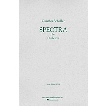 Associated Spectra (1958) (Full Score) Study Score Series Composed by Gunther Schuller