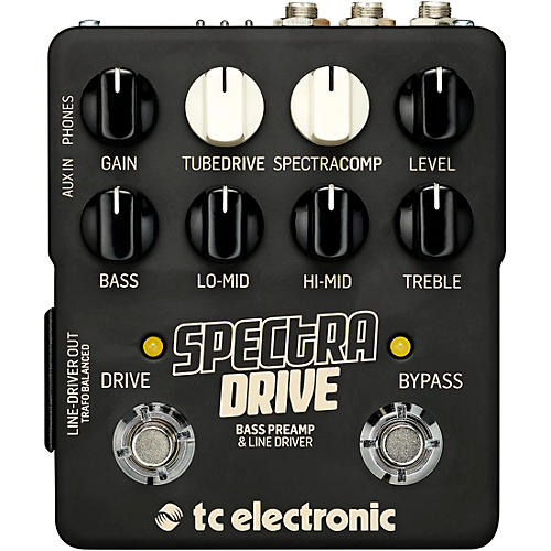 SpectraDrive Bass Preamp Effects Pedal